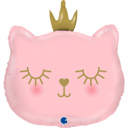"CAT PRINCESS GRABO SHAPE 26"" PKT"