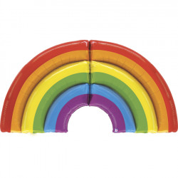"""RAINBOW GRABO 60"""" SPECIAL DELIVERY SHAPE PKT"""