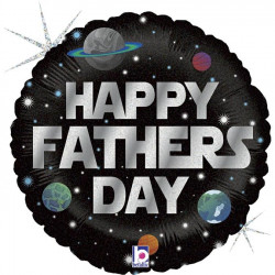 """GALACTIC FATHER'S DAY GRABO 18"""" HOLOGRAPHIC PKT"""