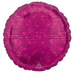 PINK SEQUIN CIRCLE STANDARD S18 PKT A