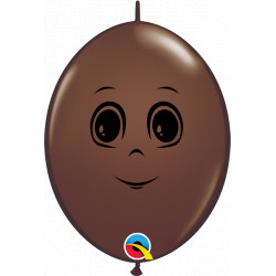 """MASCULINE FACE QUICK LINK 6"""" CHOCOLATE BROWN (50CT) CY"""