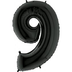 """BLACK NUMBER 9 SHAPE 40"""" PKT"""
