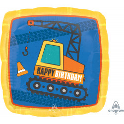 CONSTRUCTION HAPPY BIRTHDAY STANDARD S40 PKT