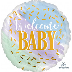 WATERCOLOUR WELCOME BABY STANDARD S40 PKT