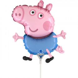 PEPPA PIG GEORGE 14 MINI SHAPE FLAT