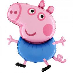 """PEPPA PIG GEORGE GRABO 37"""" SHAPE FLAT"""