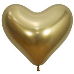 """GOLD HEART 970 14"""" SEMPERTEX REFLEX (50CT)"""