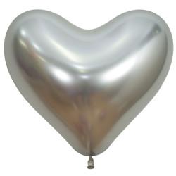 """SILVER HEART 981 14"""" SEMPERTEX REFLEX (50CT)"""