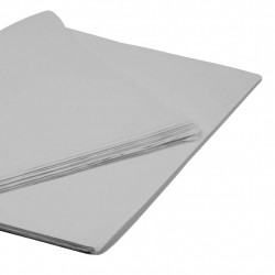 SILVER TISSUE PAPER 50cm x 76cm  (250 SHEETS)