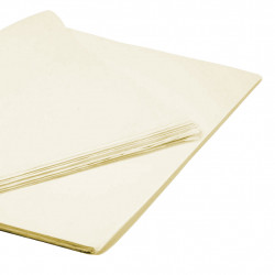 IVORY TISSUE PAPER 50cm x 76cm  (250 SHEETS)