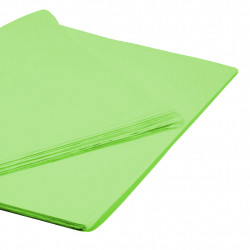 LIME GREEN TISSUE PAPER 50cm x 76cm  (250 SHEETS)