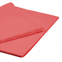 RED TISSUE PAPER 50cm x 76cm  (250 SHEETS)