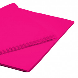 BRIGHT PINK TISSUE PAPER 50cm x 76cm  (250 SHEETS)