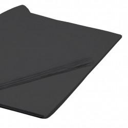 BLACK TISSUE PAPER 50cm x 76cm  (250 SHEETS)
