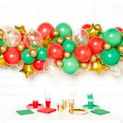 CHRISTMAS DIY GARLAND BALLOON KIT (CONTAINS 66 BALLOONS)