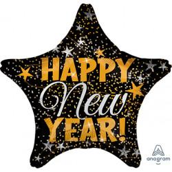 GOLD & SILVER CONFETTI NEW YEAR STANDARD S40 PKT