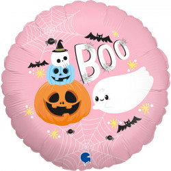 """BOO AND CHUBBY GHOST 18"""" PKT"""