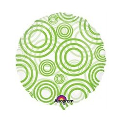 "CIRCLES LIME 18"" SALE"