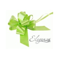 LIME GREEN PULLBOWS 50MM (20CT)