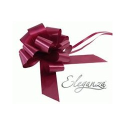 BURGUNDY PULLBOWS 50MM (20CT)
