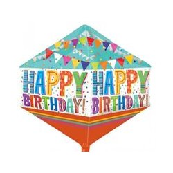 "BRIGHT BOLD HAPPY BIRTHDAY ANGLEZ G20 (17"" x 21"")"