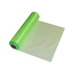LIME GREEN ORGANZA 29CMX25M