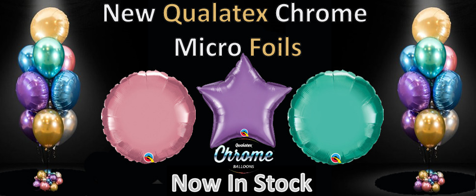 New Qualatex Chrome Micro Foils Now In Stock