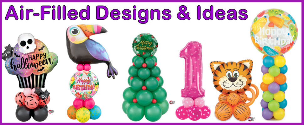 Check Out Our New Air-Filled Designs And Ideas Section Great Alternative Designs By Using Air Instead Of Helium