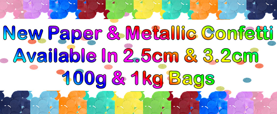 Now Stocking Paper & Metallic Confetti