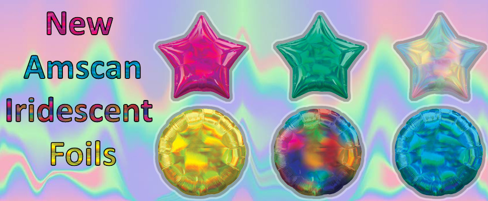 New Iridescent Holographic Foils Now In Stock