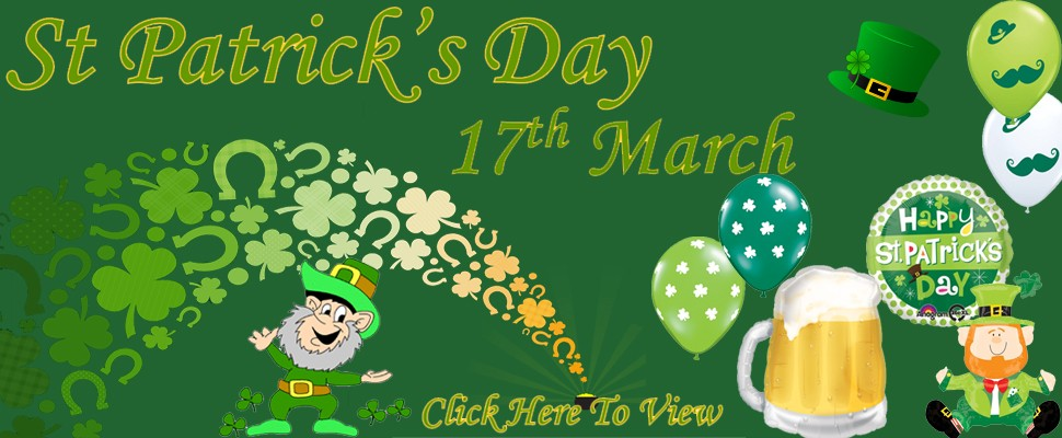 Click Here To View St Patrick's Day Products