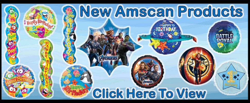New Amscan Products Click Here To View