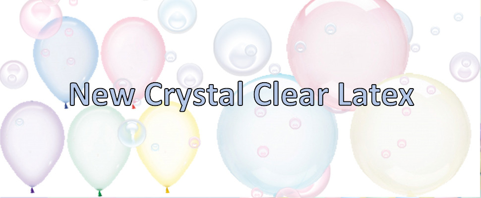 New Amscan Crystal Clear Latex Perfect Match With Clearz Now In Stock