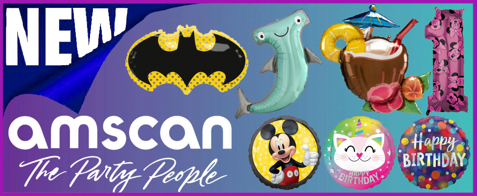 Check Out All The New Amscan Products Here