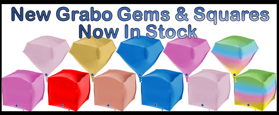 New Grabo Gems & Squares Now In Stock