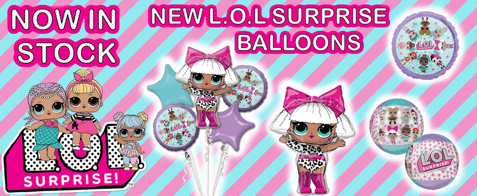 Click Here To View New L.O.L Surprise Foil Balloons